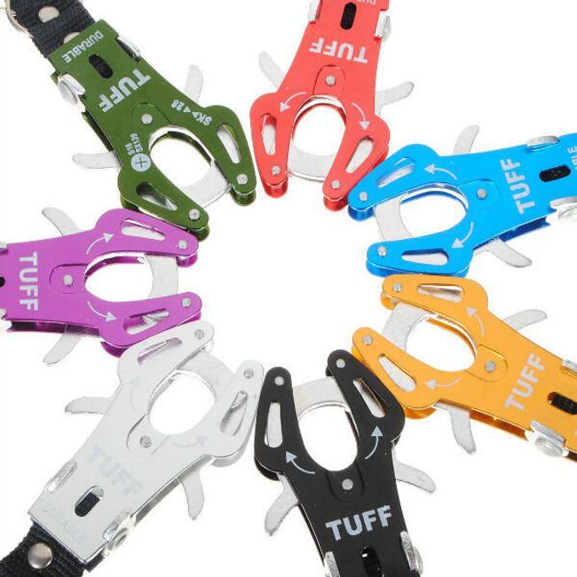 Přívěsek na klíče - karabina, na výběr ze 7 barev 1