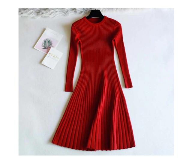Dámské šaty s dlouhým rukávem Melissa 1