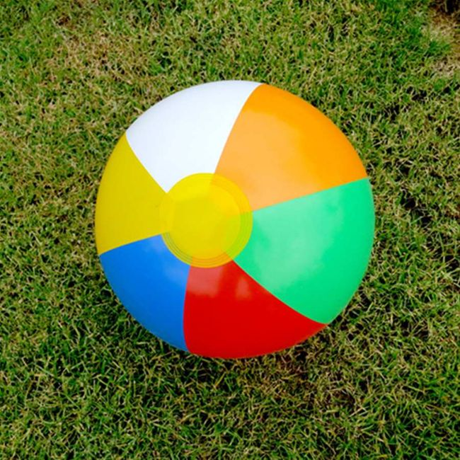 Nafukovací míč - barevný 1