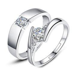 Svatební nebo zásnubní prsteny pro pár - 4 varianty
