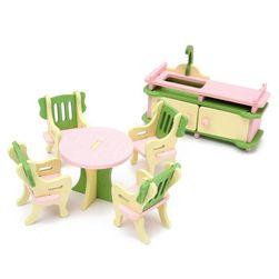 Oyuncak bebek mobilya P04