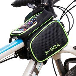 Brašna na kolo na s kapsou na mobil - 3 barvy
