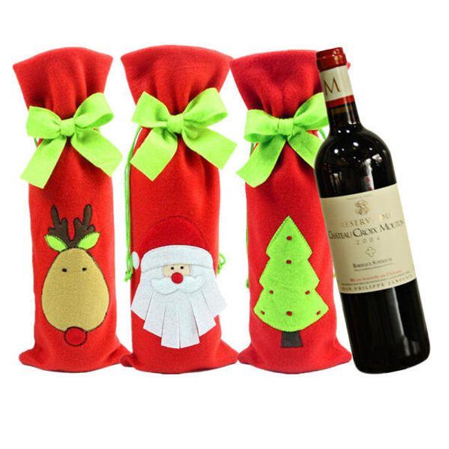 Сумка для вина - рождественские мотивы 1