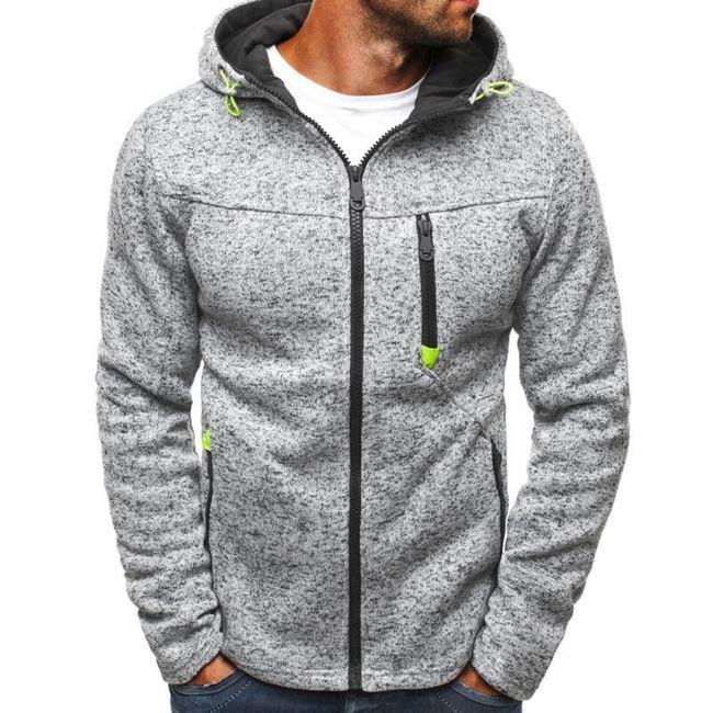 Meleg pulóver kapucnival