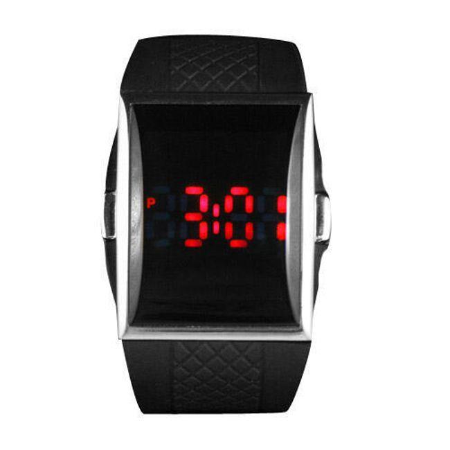 Sportowy, silikonowy LED zegarek 1