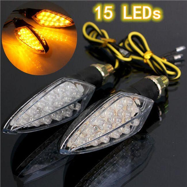 LED-es jelek a motoron - 15 dióda 1