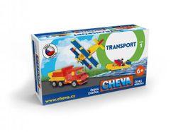Stavebnica Cheva 1 Basic plast 309ks v krabici 35x19x9cm RM_49000001