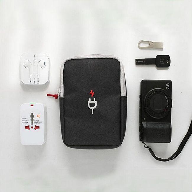 Дорожная сумка для небольшой электроники и аксессуаров 1