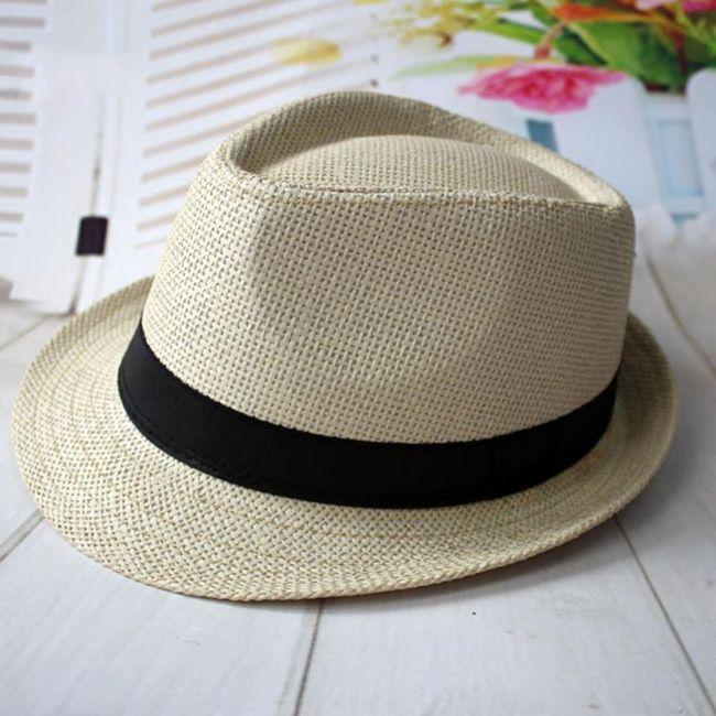 Letnji slameni šešir - 4 boje 1