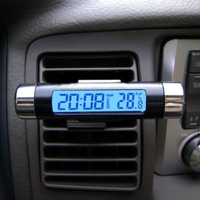 Termometer/ura za avtomobil  1