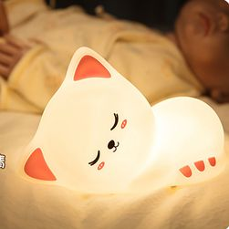 LED silikonska lampica Kittyo3