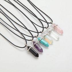 Ogrlica sa kristalom - razne vrste