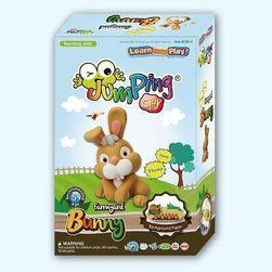 Sada modelíny JumpingClay k výrobě králíčka
