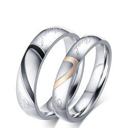 Prsteni od nerđajućeg čelika za parove