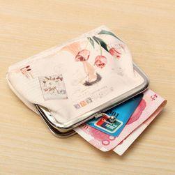 Kis pénztárca vintage stílusban