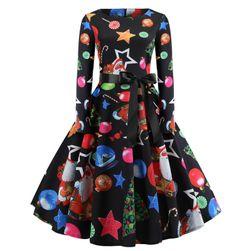 Dámske vianočné šaty Maline