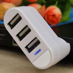 Mini forgatható USB hub három porttal