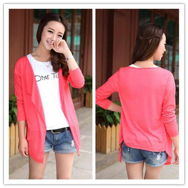 Lagani ženski džemper u pastelnim bojama 1