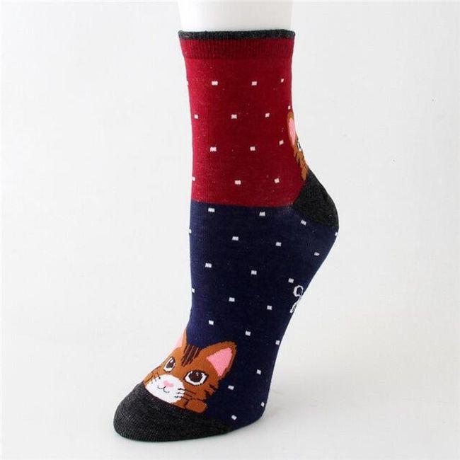 Dámské ponožky Rowena 1