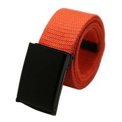 Unisex pásek s černou přezkou - i
