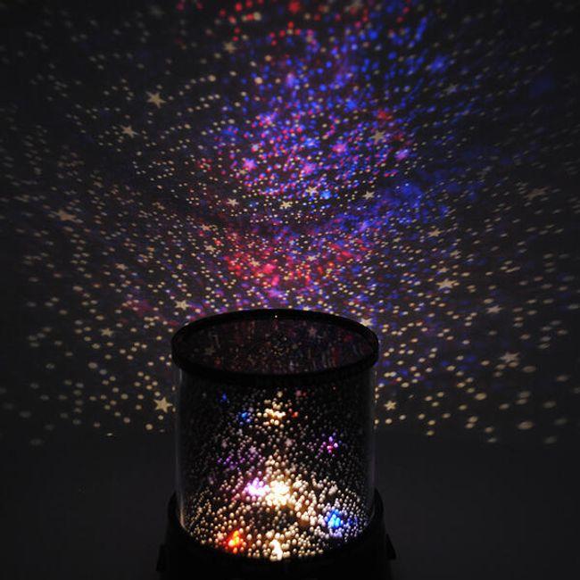 LED projektor zvezdasto svetlo - razna pozadinska osvetljenja u boji 1