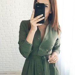 Damska sukienka z długimi rękawami Jenifer