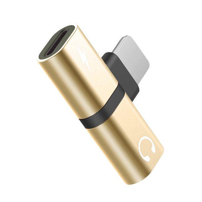 Adapter audio do iPhone'a 2w1 FLOVEME II 1