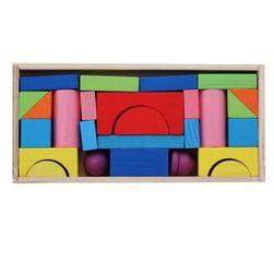 Dřevěné kostky B03672