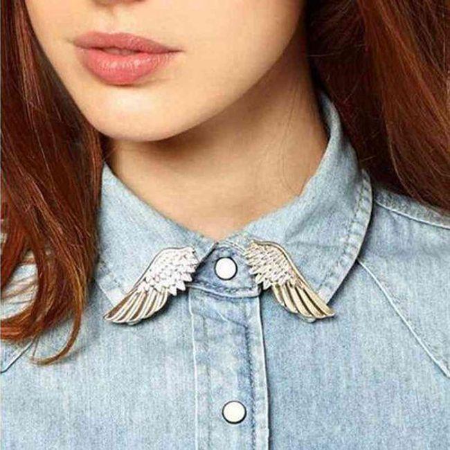 Брошь- Ангельские крылья 1