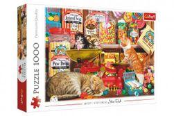 Puzzle Mačacie sladkosti 1000 dielikov 68,3x48cm v krabici 40x27x6cm RM_89010630