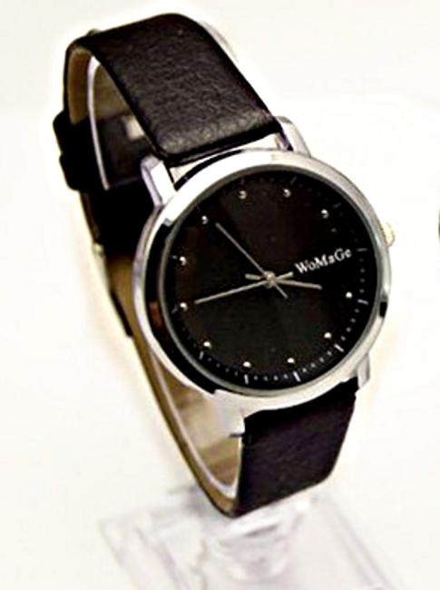 Pánské analogové hodinky v černé barvě 1