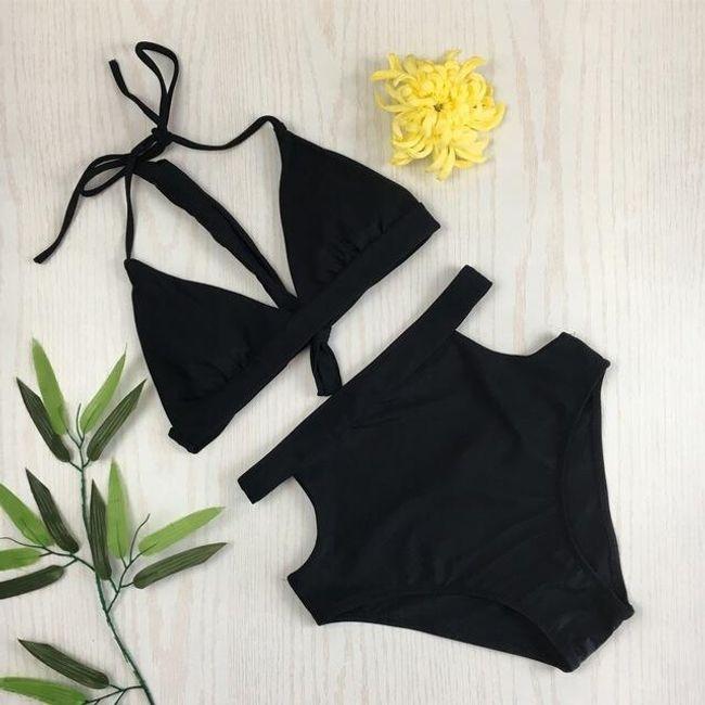 Ženski kupaći kostim sa višim strukom Hanna 1