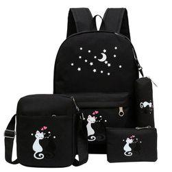 Iskola táska készlet