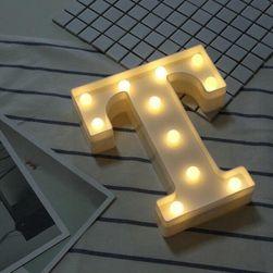 LED písmeno Alfa