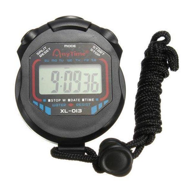 Cronometru digital pentru sport - negru 1