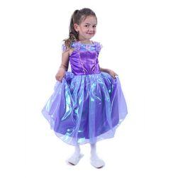 Otroški kostum - vijolična princesa (M) RZ_205147