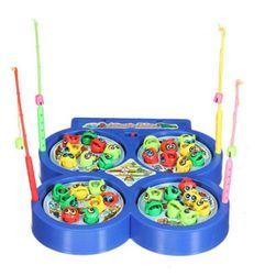Igra za otroke - magnetne ribe