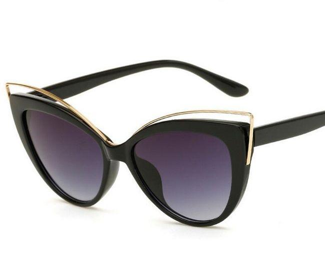 Dámské sluneční brýle - extravagantní 1