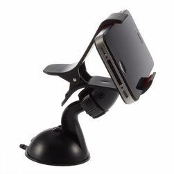 Suport universal pentru telefon mobil în negru