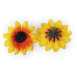 Ozdobne kwiaty słonecznika