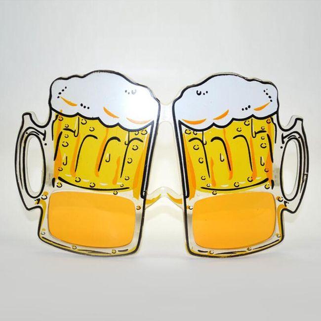 Pivní párty brýle 1