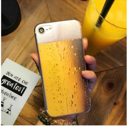 Carcasă spate pentru iPhone cu bere