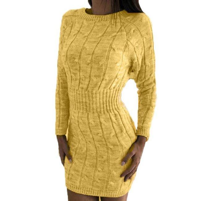 Dámské pletené šaty Sophy 1