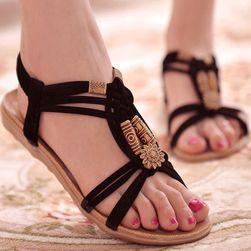 Ženski poletni sandali v lagodno boemskem stilu