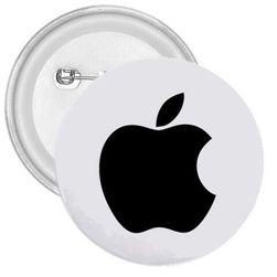 Przypinka Apple