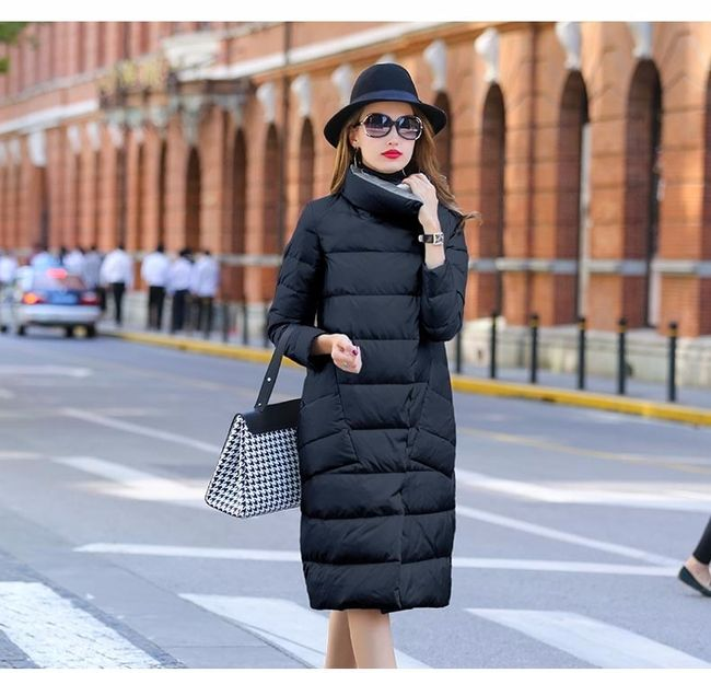 Női téli kétoldalú kabát Tass
