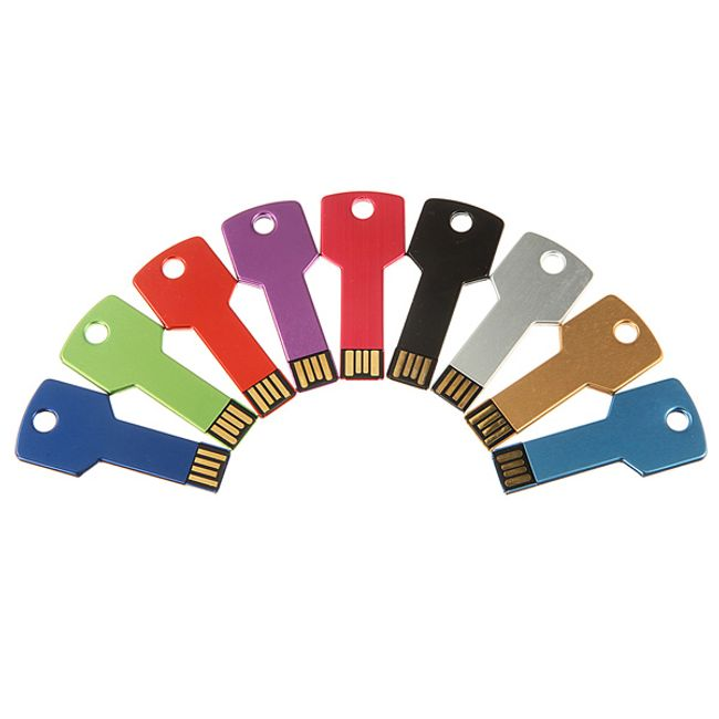 32GB flashdisk ve tvaru klíče, 9 barev 1