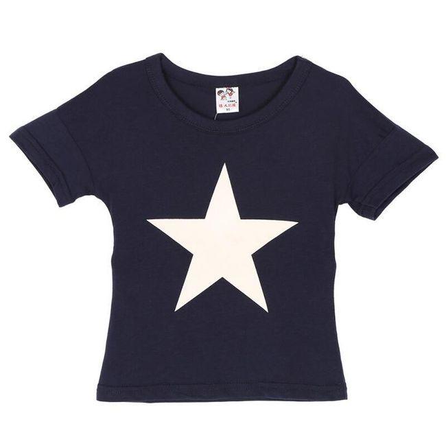 Tričko s hvězdou pro děti 1