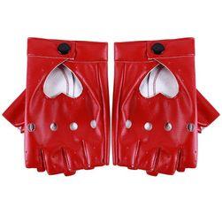 Dámské rukavice bez prstů Leontýna