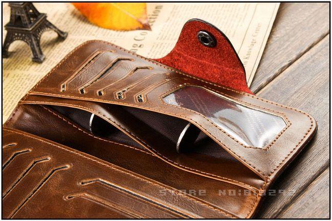 Hosszú férfi pénztárca két változatban